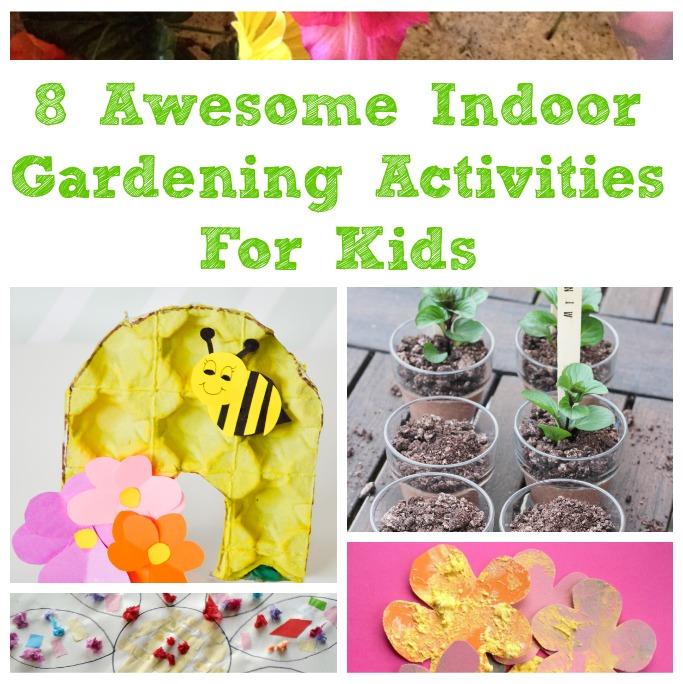 gardening activities for kids for indoors