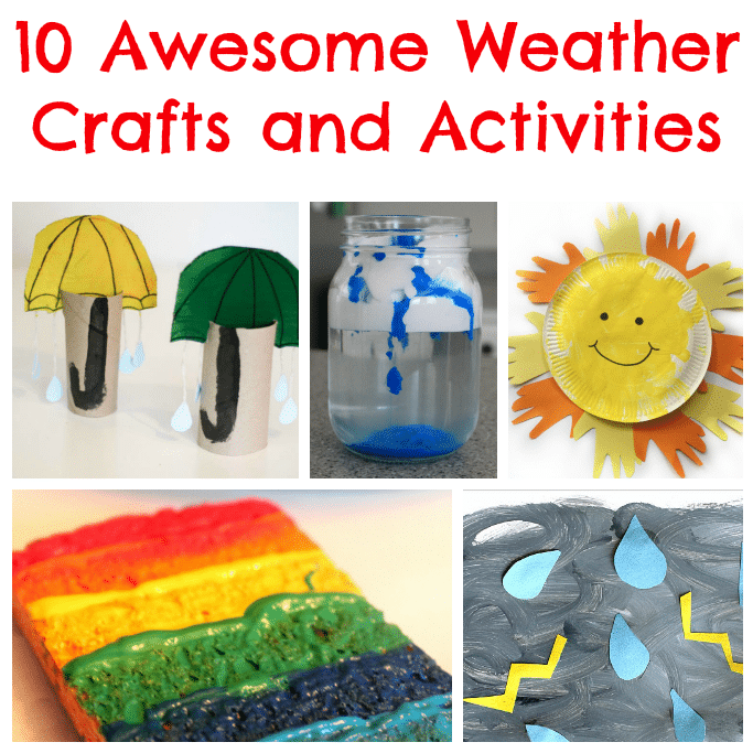 Weather Crafts And Activities Tuesday Tutorials
