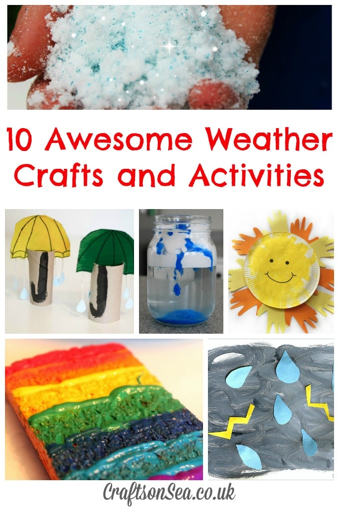 weather crafts and activities