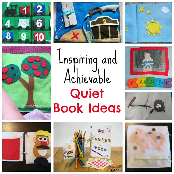 Inspiring and Achievable Quiet Book Ideas Square