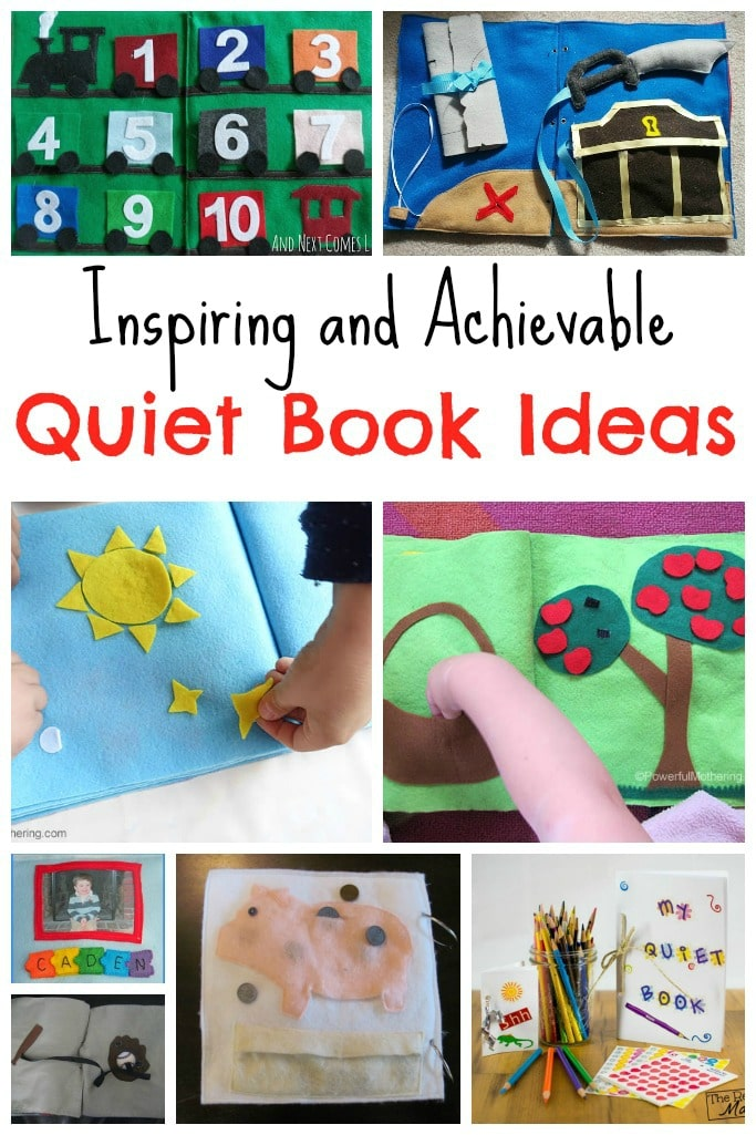 Inspiring and Achievable Quiet Book Ideas