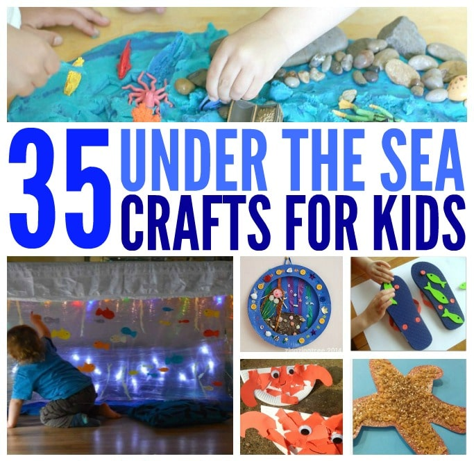 under the sea crafts for kids fb