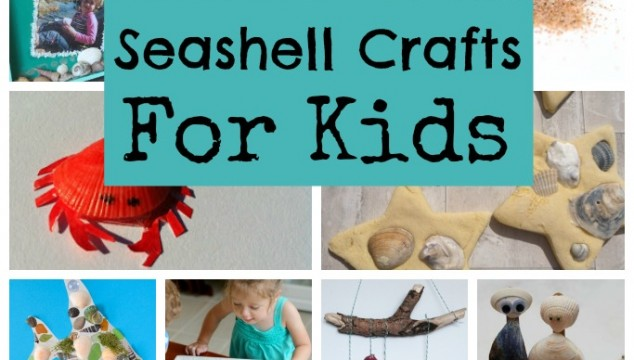 Seashell Sea Crafts for Kids