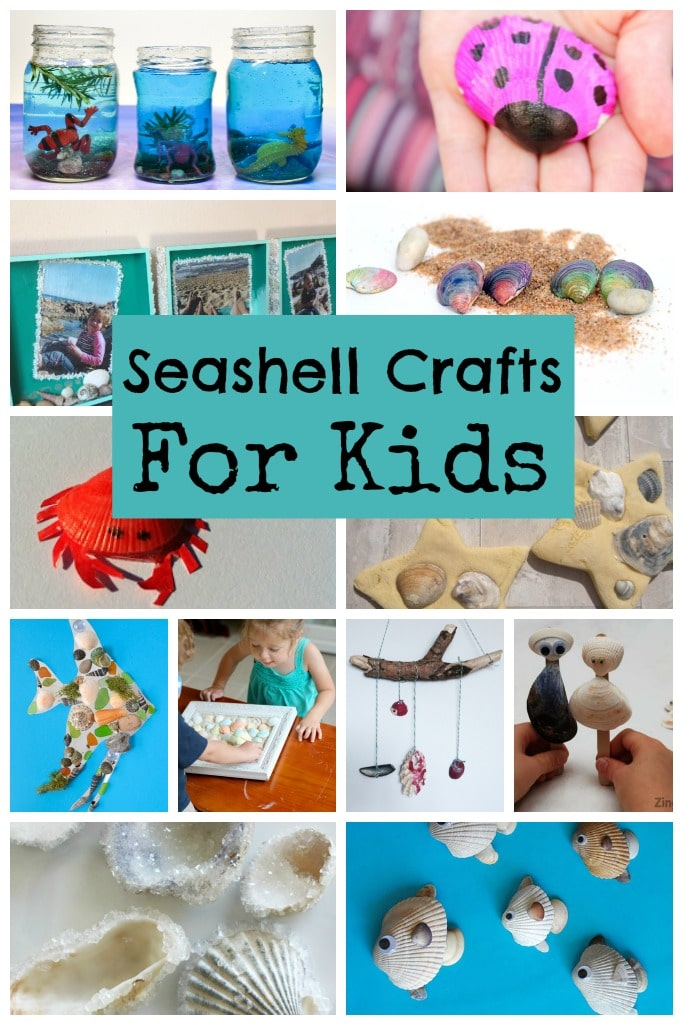 Seashell sea crafts for kids crafts on sea for Seashell crafts for adults