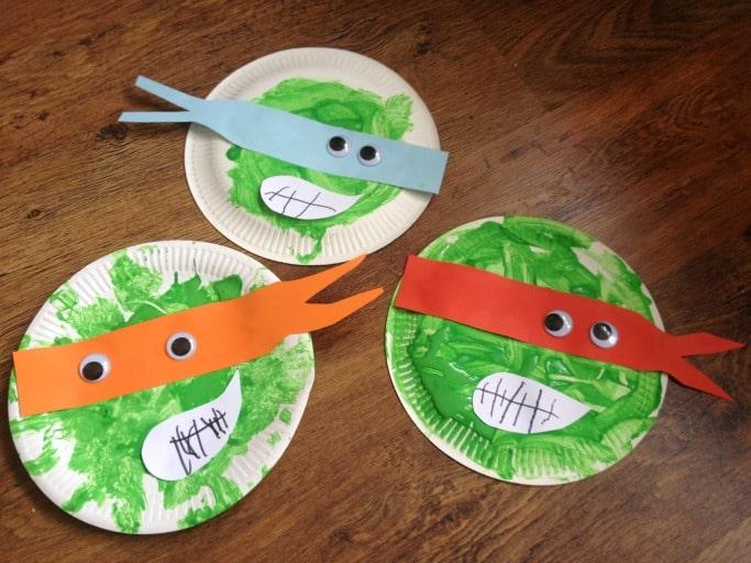 Ninja Turtle Crafts For Preschoolers
