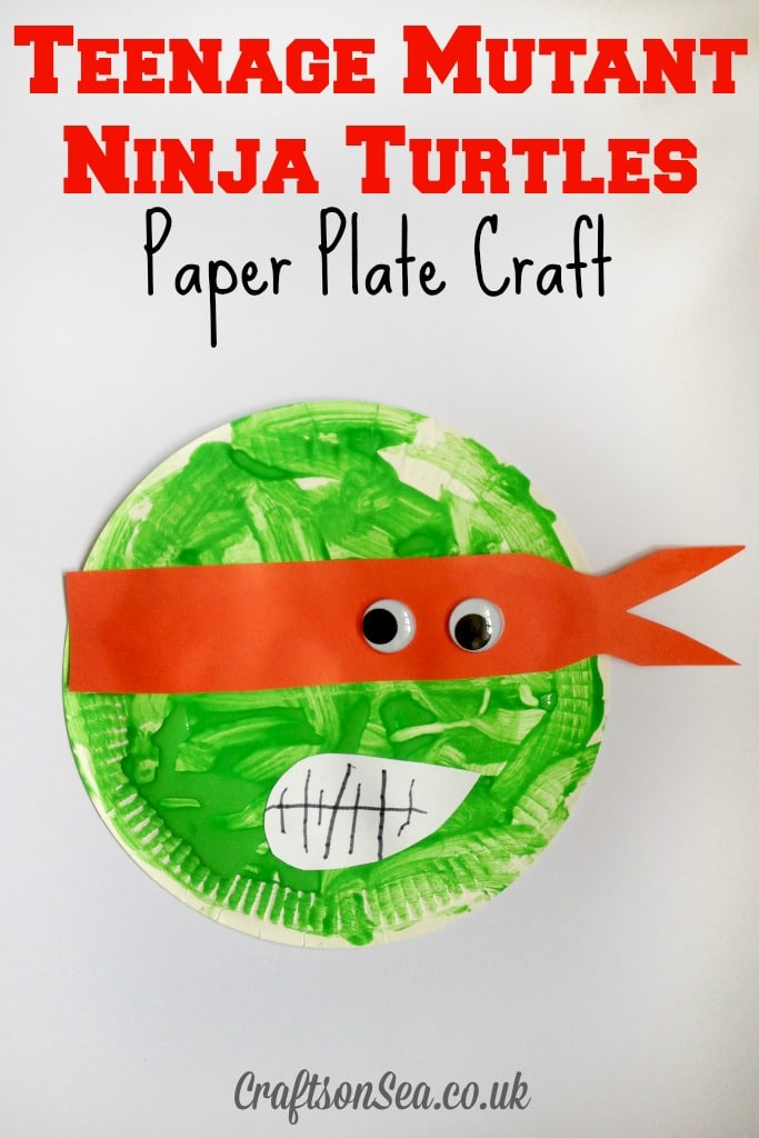 teenage mutant ninja turtles crafts
