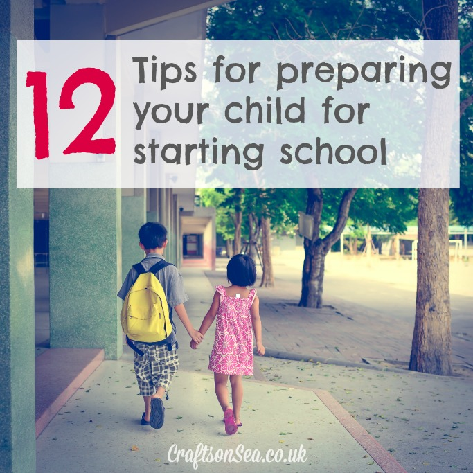 12 tips for preparing your child for starting school