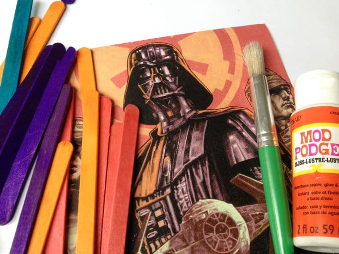 darth vader craft sticks puzzle diy