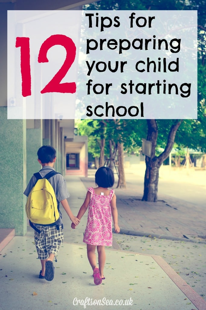 tips for preparing your child for starting school
