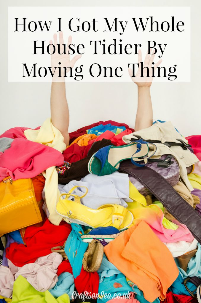How I Got My Whole House Tidier by Moving One Thing parenting hack