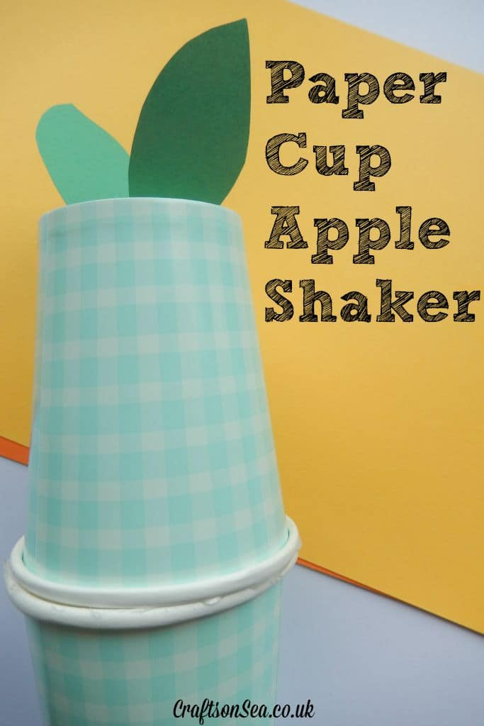 Paper Cup Apple Shaker
