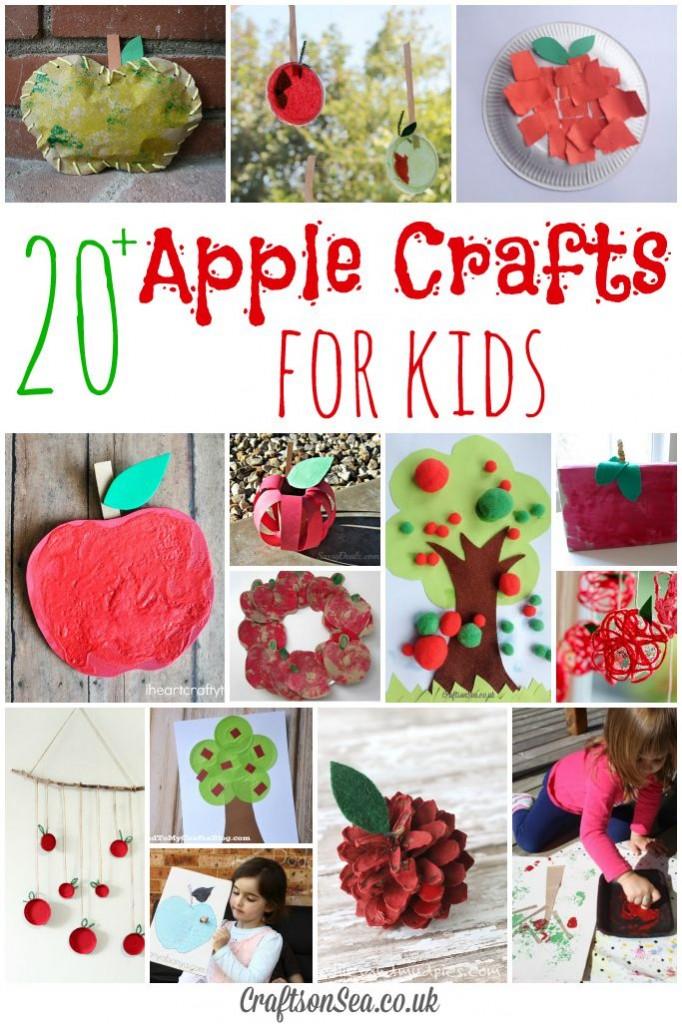 Cute Apple Crafts For Preschool
