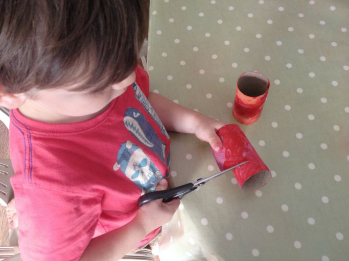 how to make toilet roll snakes preschool craft