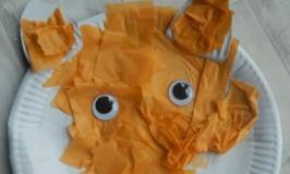 Paper Plate Fox