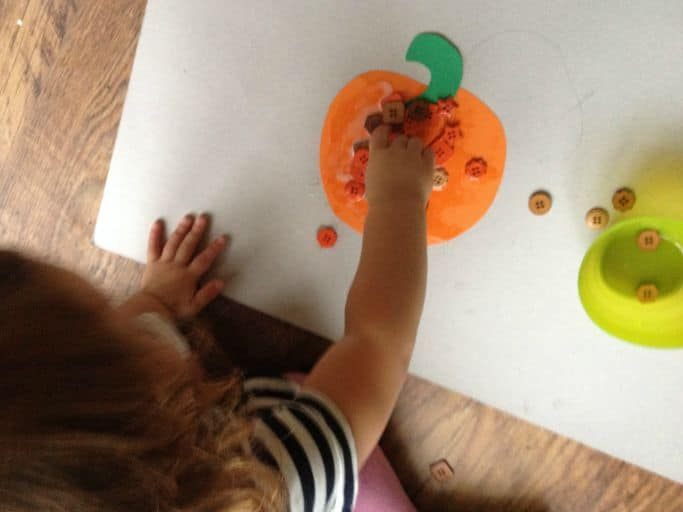 PUMPKIN ACTIVITY FOR TODDLERS