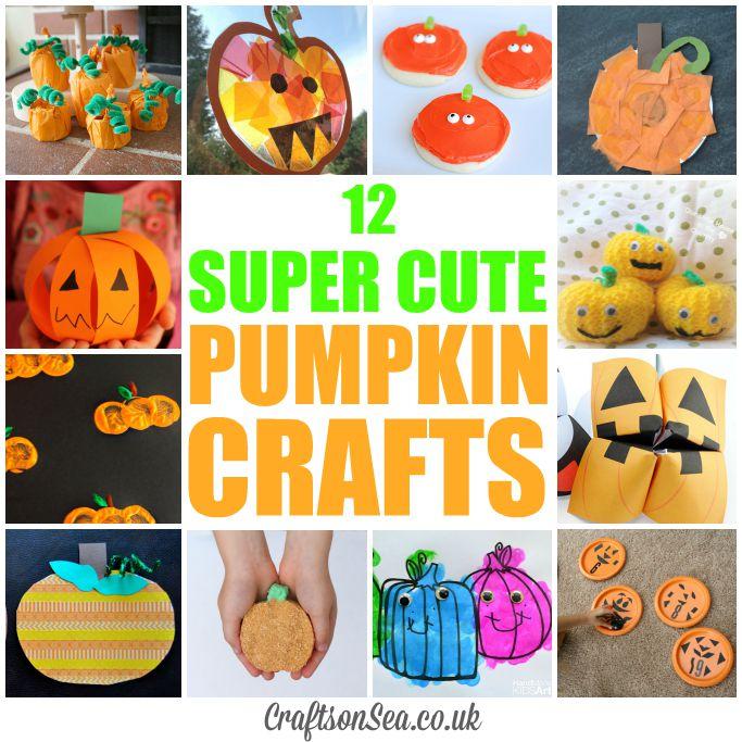 Super cute pumpkin crafts