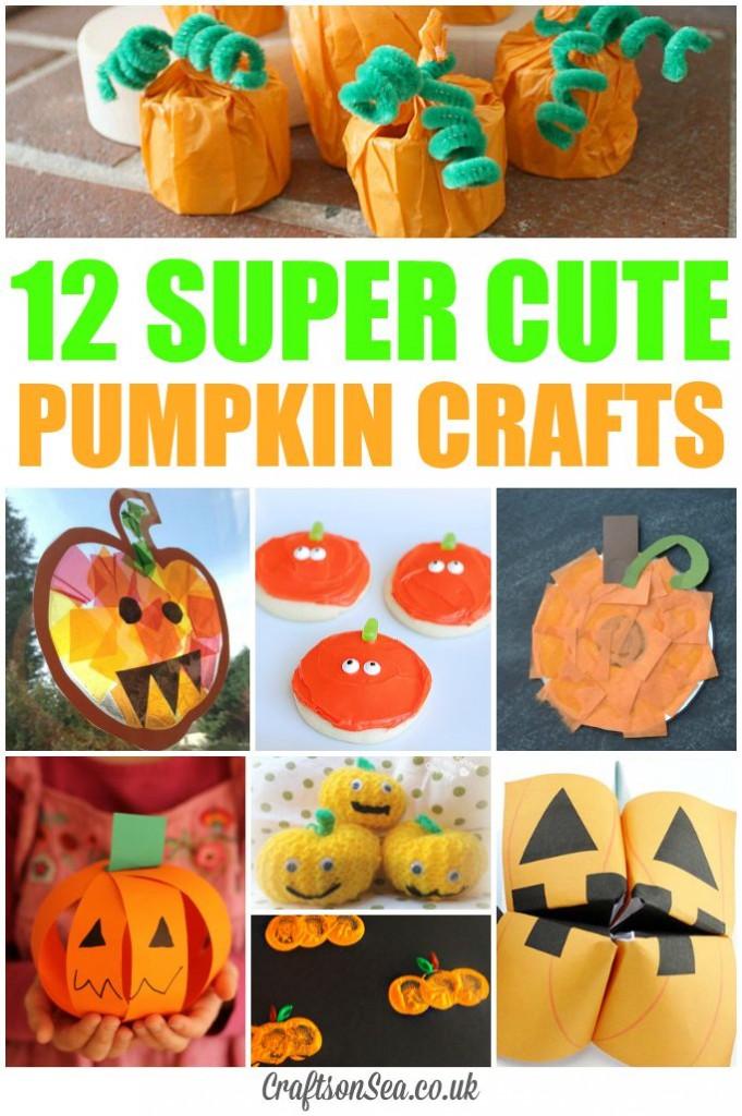 cute pumpkin crafts