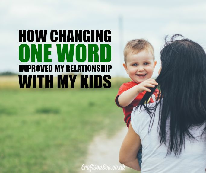 how to improve your relationship with your kids