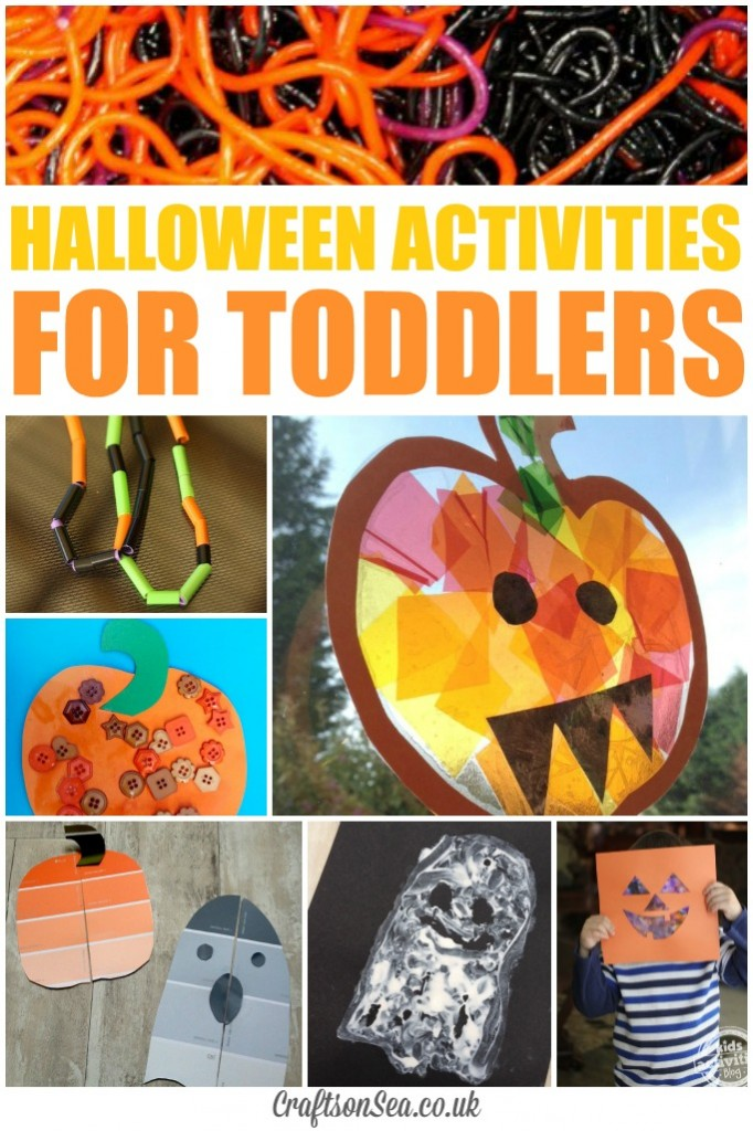 halloween crafts for toddlers paint chip puzzles activities for toddlers 4606