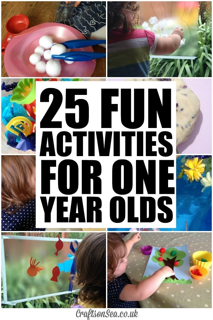 craft ideas for 1 year olds 25 activities for one year olds crafts on sea 7530