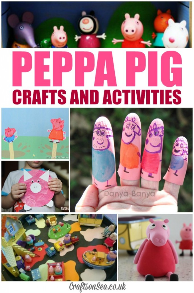 peppa pig crafts and activities for kids