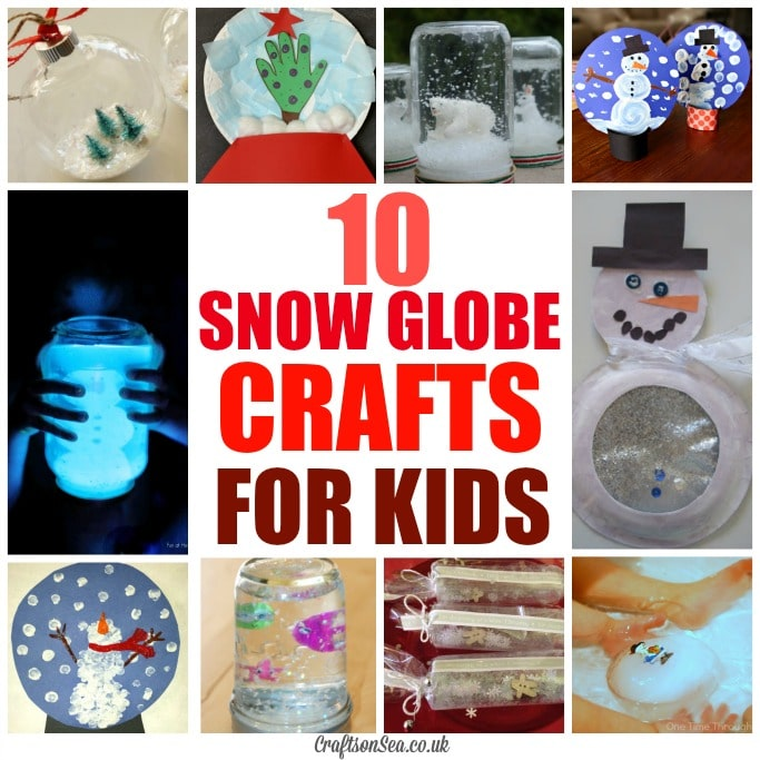 10 snow globe crafts for kids