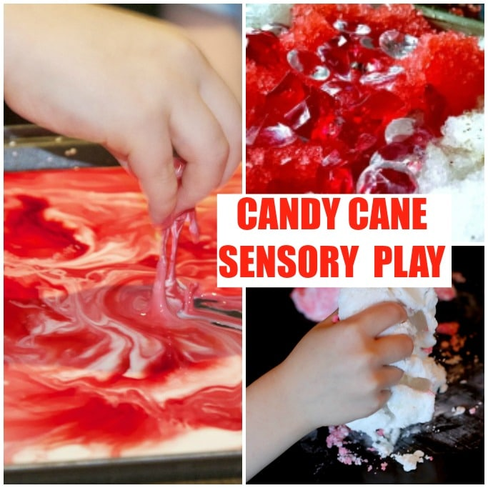 CANDY CANE SENSORY PLAY ACTIVITIES