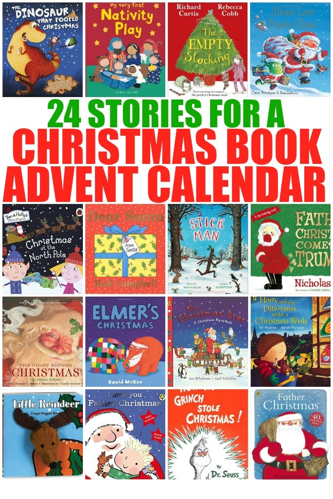 Preschool Xmas Calendar Ideas : Stories for a christmas book advent calendar crafts