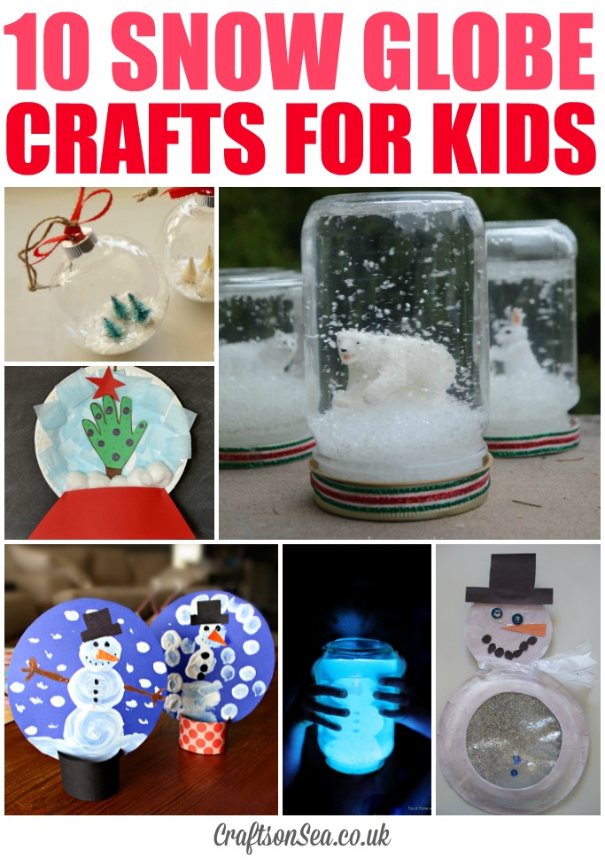 10 snow globe crafts for kids crafts on sea for Snow globe craft for kids