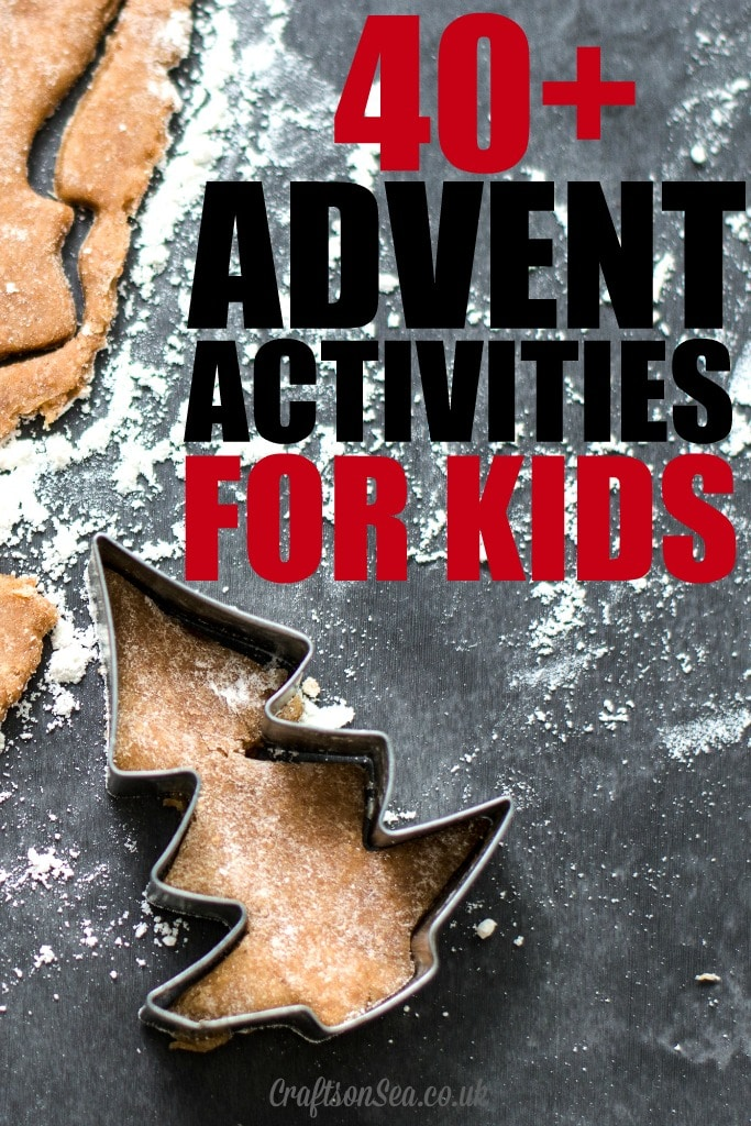 40 advent calendar activities for kids crafts on sea