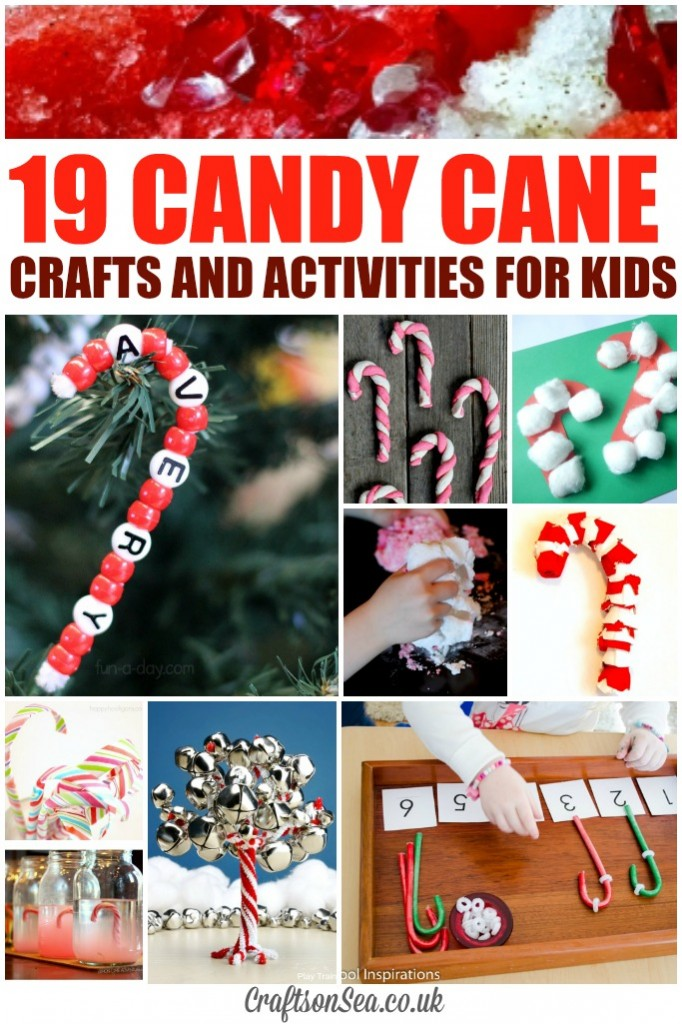 candy cane crafts and activities for kids