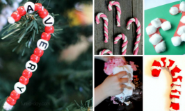 Candy Cane Crafts and Activities