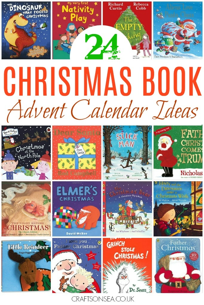 christmas book advent calendar ideas christmas box