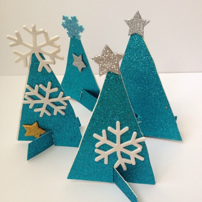 winter tree craft for kids