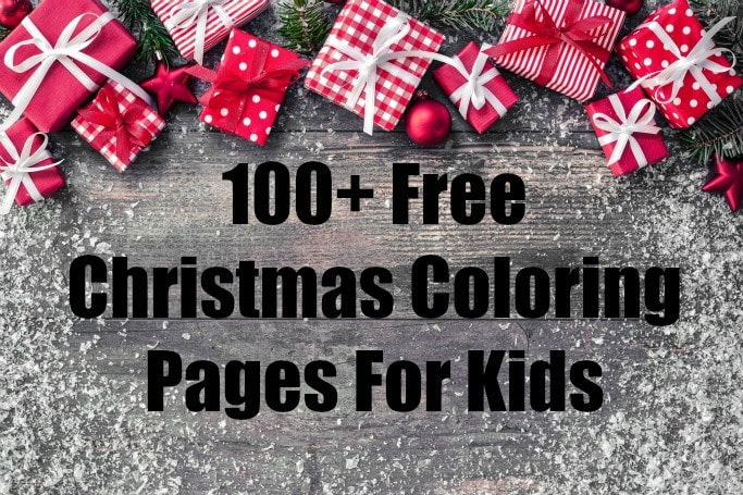 100 free christmas coloring pages for kids