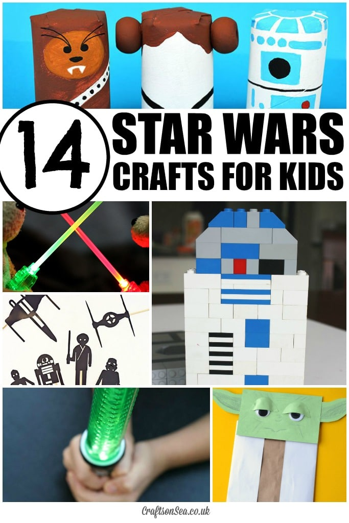 The best star wars crafts for kids crafts on sea