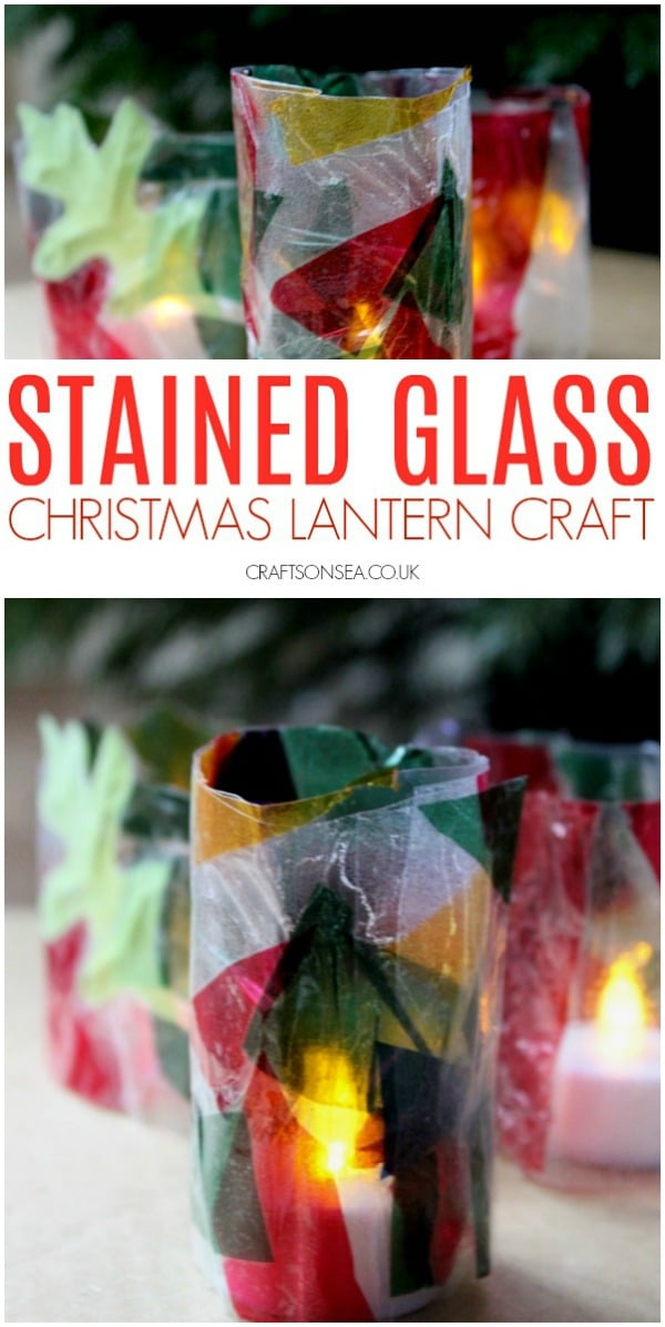christmas lantern craft for kids