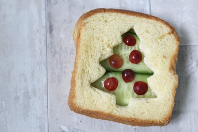 christmas tree snack for kids
