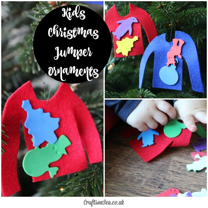 kids christmas jumper craft