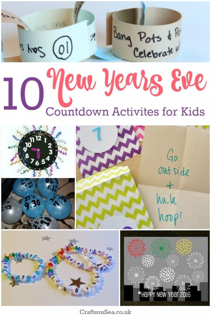 new years eve countdown activities for kids