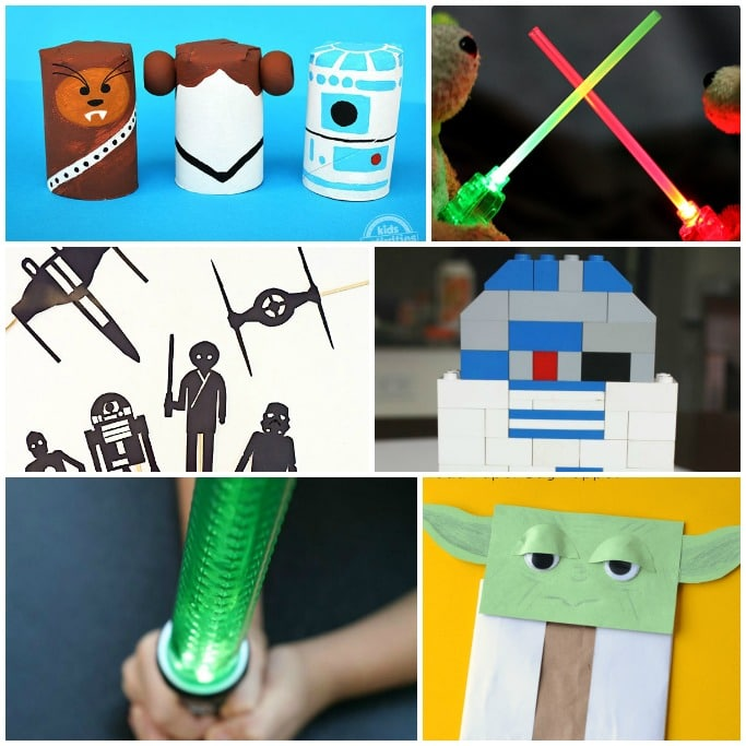 The Best Star Wars Crafts for KidsCrafts on Sea