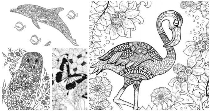 200 gorgeous free colouring pages for adults