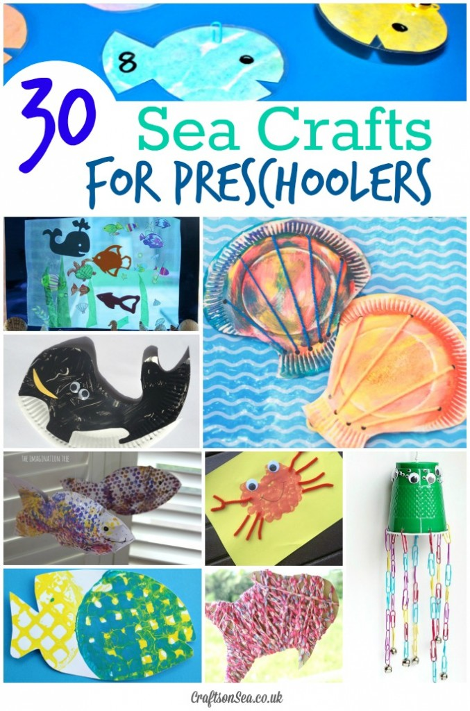 Preschool Sea Crafts For Kids Crafts On Sea