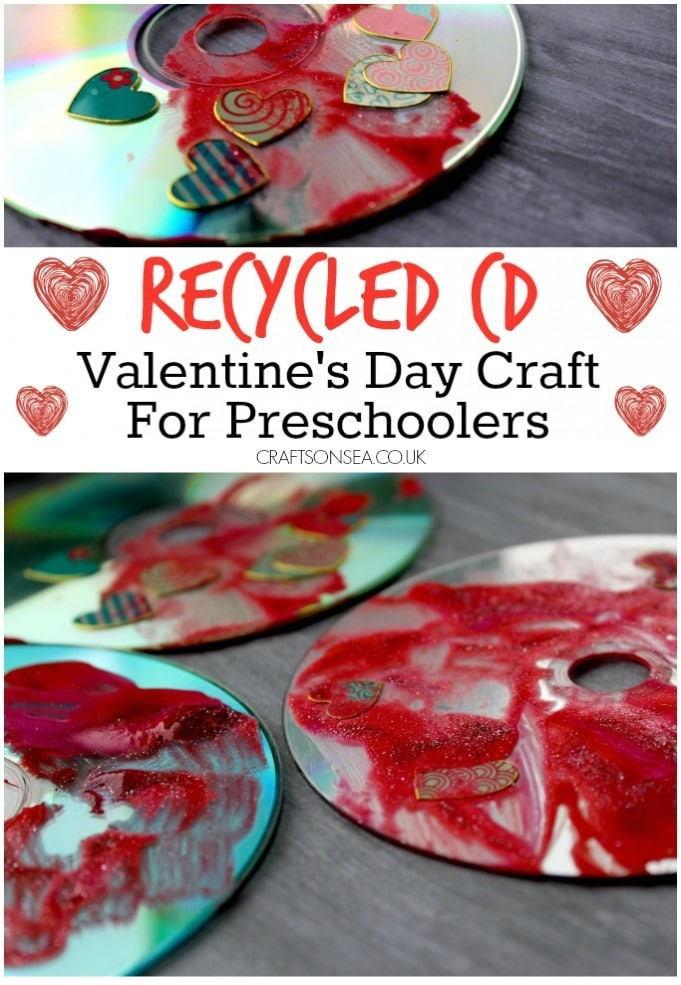 Valentines Craft for Preschoolers Recycled