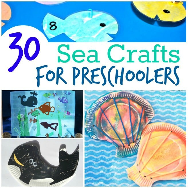 sea crafts for preschoolers