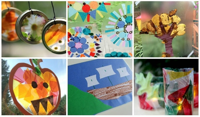 Seasonal contact paper crafts for every month crafts on sea for Where to buy contact paper for crafts
