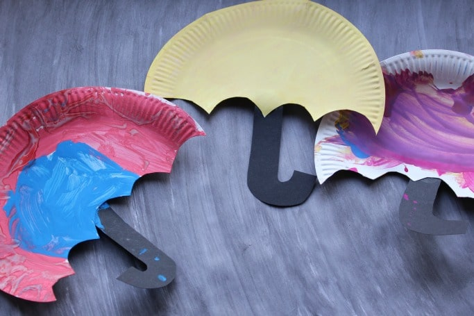 How to Make Umbrella with Color Paper | DIY Paper Umbrellas Making ... | 455x683