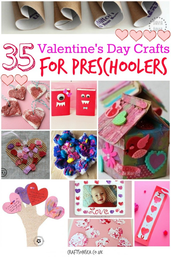 Valentines day crafts for preschoolers crafts on sea for Valentines crafts for kindergarten