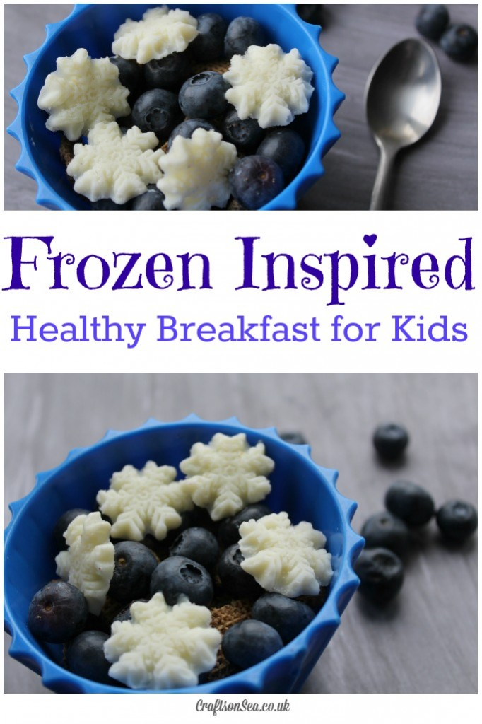 Frozen Inspired breakfast for kids