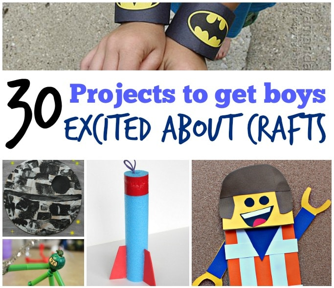 30 Cool Craft Ideas For Boys Crafts On Sea